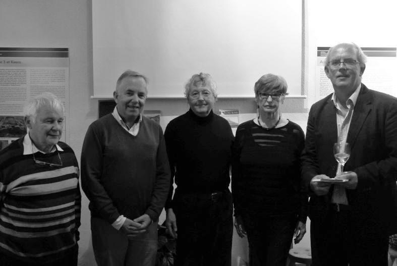 Some members of Achill Historical and Archaeological Society