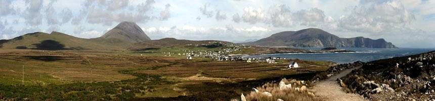 Dooagh panorama