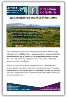 Cover of 2021 Accredited Courses Brochure