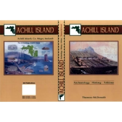 Covers of book 'Achill Island - Archaeology, History, Folklore' by Theresa B. McDonald