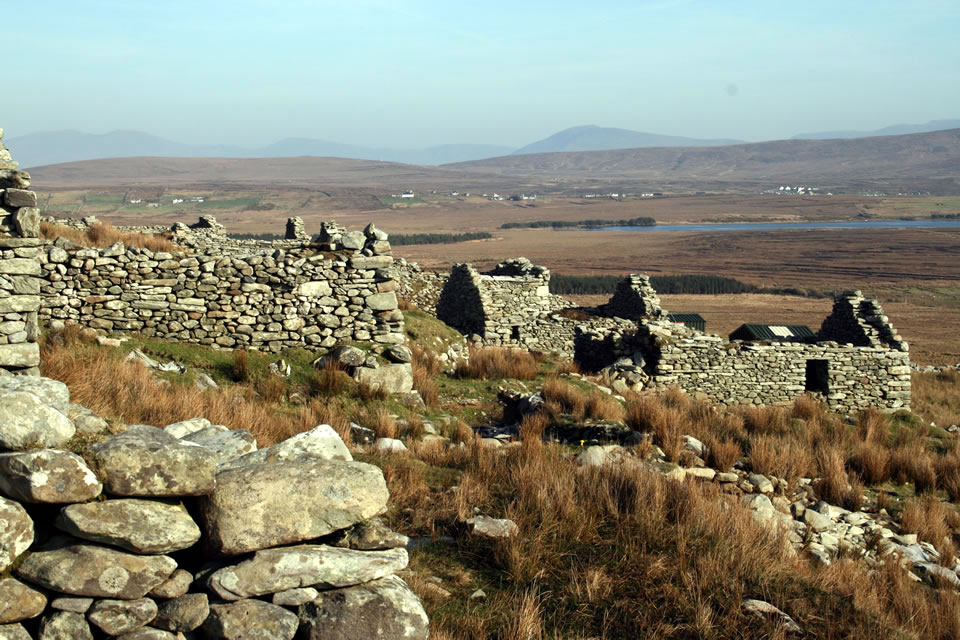 Houses at Slievemore