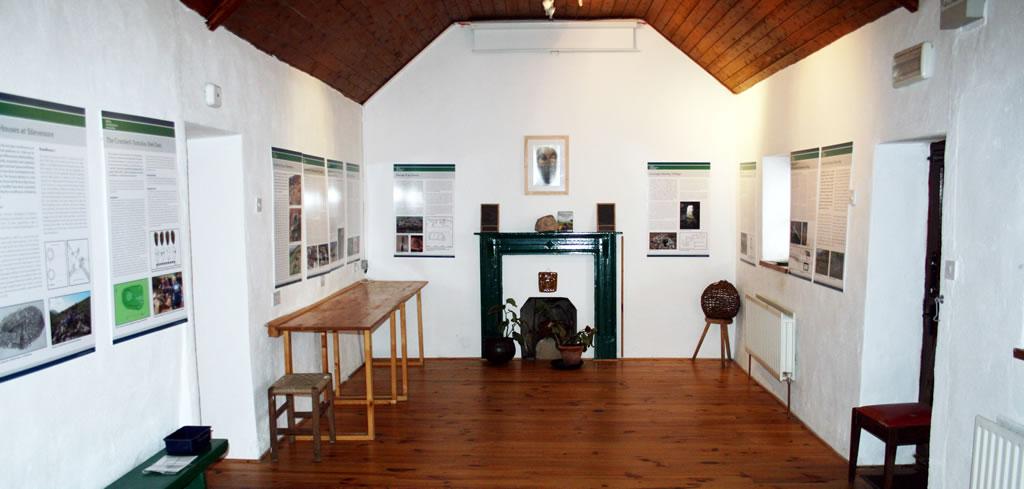 Interior of Folklife Centre, Dooagh, Achill Island
